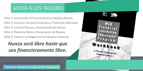 TALLERES DE EDUCACIÓN FINANCIERA boletos