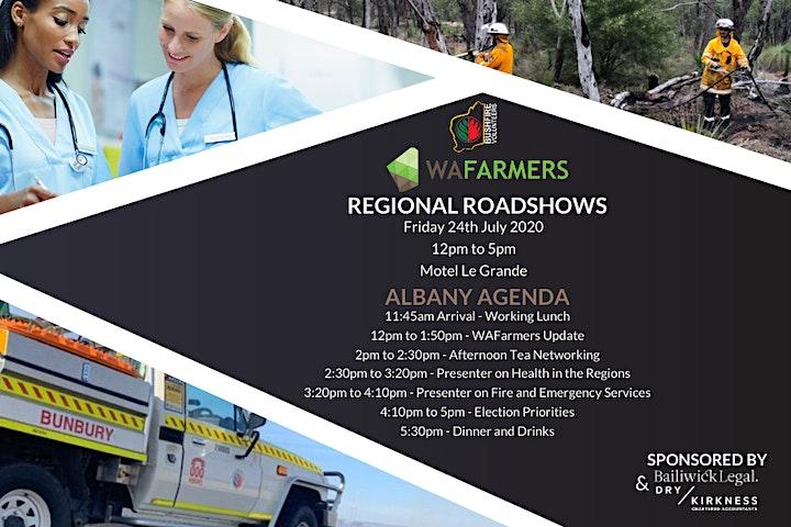 WAFarmers and Bushfire Volunteers WA Roadshow 2020 - Albany image