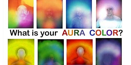 Aura Reading & Energy Healing - 45 minutes tickets