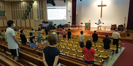 SJSM Onsite Sunday 8.15am service with Holy Communion tickets