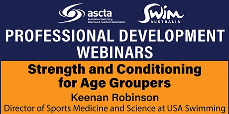 ASCTA PD: Keenan Robinson - Strength and Conditioning for Age Groupers tickets