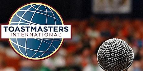ONLINE Everybody Speaks Toastmasters - Improve Public Speaking Skills tickets
