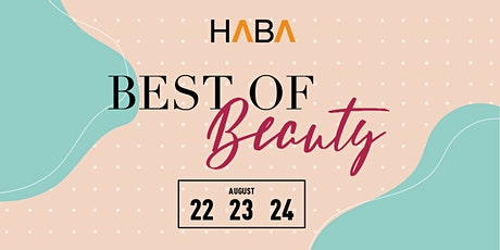 HABA Best of Beauty Virtual Conference tickets