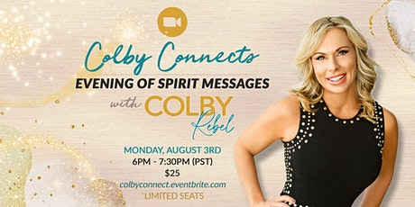 Colby Connects-an Online Evening of Spirit Messages tickets