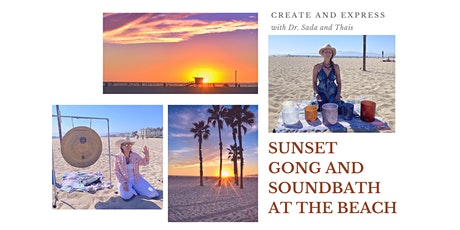 Sunset Gong and Sounbath on the Beach tickets