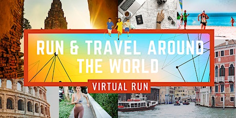 Travel & Virtual Run Around the World 2020 tickets
