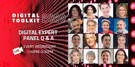 Digital Toolkit 2020: Digital Expert Panel Q&A tickets