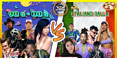 90's / 00s VS L'Italiano Balla - Bloom Beach Bar biglietti