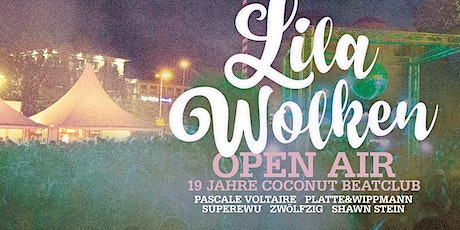 Lila Wolken Open Air ★ 19 Jahre Coconut Beatclub Tickets