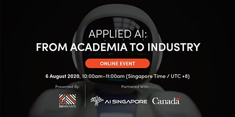Applied AI: From Academia to Industry [Online Event] tickets