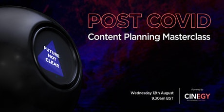 POST COVID Content Planning Masterclass tickets