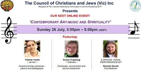 Contemporary Art-Music and Spirituality tickets