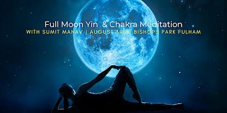 Full Moon Yin & Chakra Meditation with Sumit Manav tickets