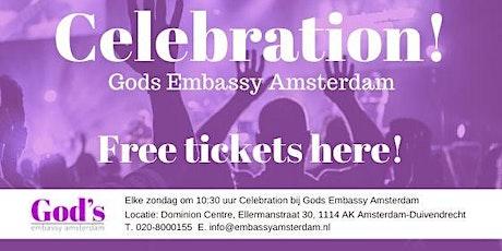 Gods Embassy Amsterdam Celebration 16-8 tickets