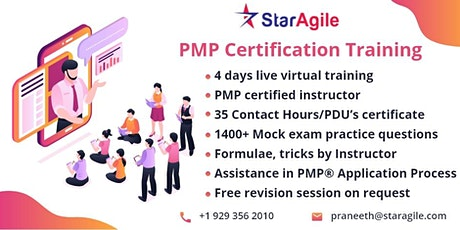 PMP Training workshop in New York, NY tickets