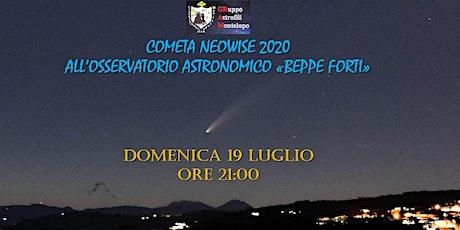 COMETA NEOWISE 2020 ALL'OSSERVATORIO ASTRONOMICO BEPPE FORTI biglietti