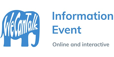 We Can Talk information event tickets