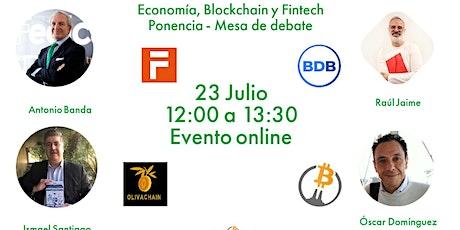 Economía, Blockchain y Fintech - Evento Online ingressos