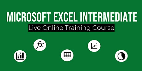 Microsoft Excel Intermediate (Live Online Training Course) tickets