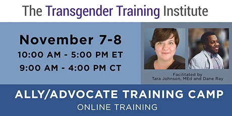 Ally/Advocate Training Camp - ONLINE - Nov 7-8, 2020 (10 AM-5 PM ET) tickets