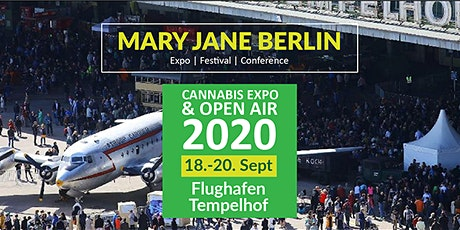 Mary Jane Berlin 2020 - Cannabis Expo & Festival  Tickets