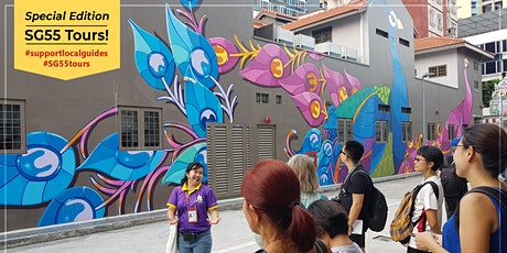 'Journey of the Senses' Little India Walk - #SG55 Special Tour Edition tickets