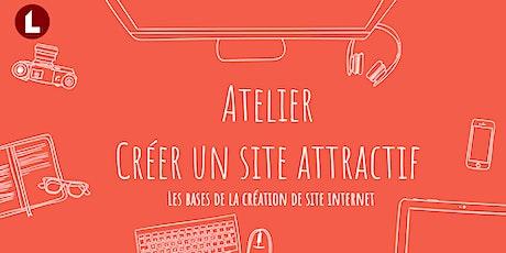 Créer un site internet attractif billets