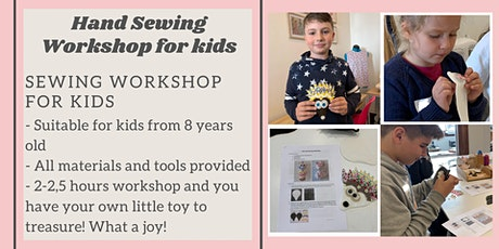 Kids Hand Sewing Workshop - learn to sew this School Holidays! tickets