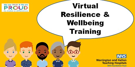 WHH Virtual Resilience  & Wellbeing Training tickets