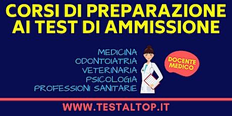 Corsi di Preparazione ai Test di Ammissione Veterinaria 2020 - ALESSANDRIA biglietti