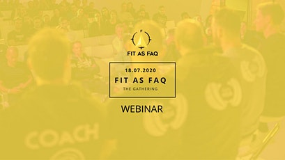 Fit as FAQ - The Gathering tickets