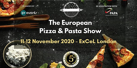 The European Pizza & Pasta Show 2020 tickets