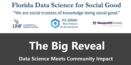 2020 Florida Data Science for Social Good - The Big Reveal tickets