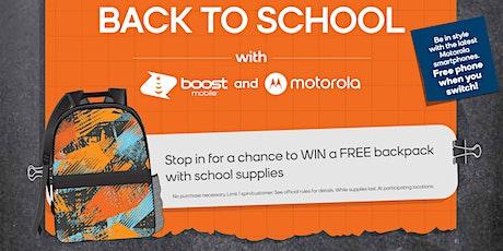 Score a Free Backpack for Your Child biglietti
