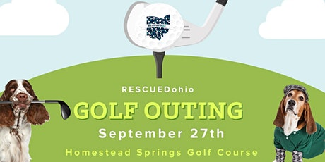 RESCUEDohio Golf Outing tickets