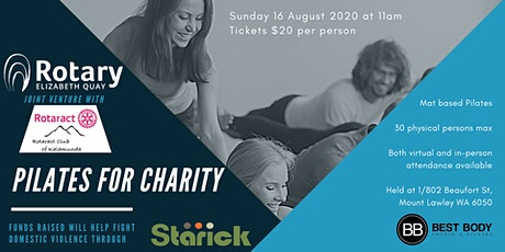 Pilates for Charity tickets