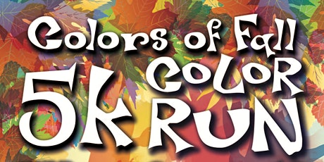 'Colors of Fall' Color Run tickets
