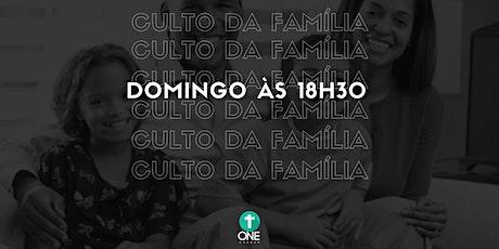 CULTO DA FAMILIA - 19.07.2020 tickets