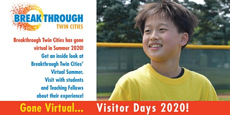 Breakthrough Twin Cities Visitor Days tickets