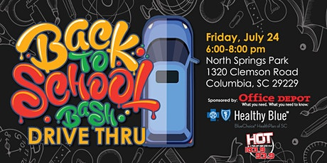 Back to School Drive-Thru Bash-North Springs Park tickets