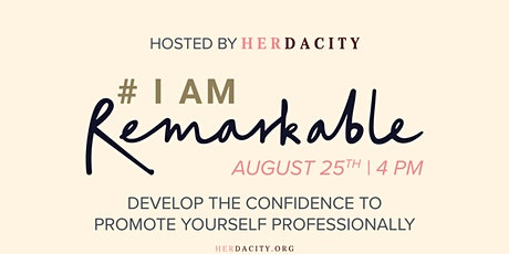 #IamRemarkable Virtual Workshop tickets