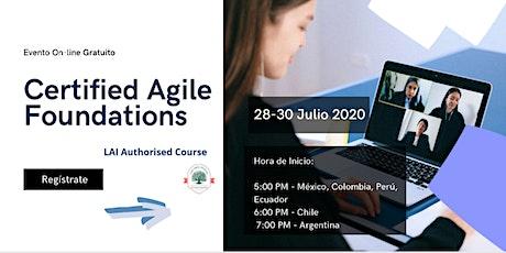 Curso Online - Certified Agile Foundations (LAI-AF) - 28 y 30 de Julio entradas
