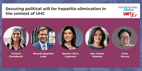 Securing political will for hepatitis elimination in the context of UHC bilhetes