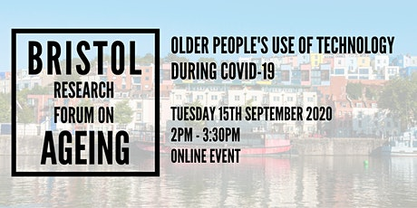 Older people's use of technology during Covid-19 tickets