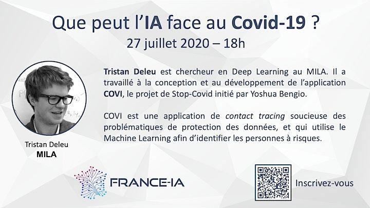 Image pour Que peut l'IA face au Covid-19 ?