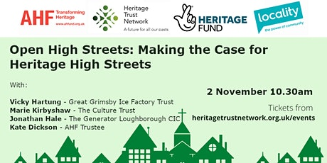 Open High Streets: Making the Case for Heritage High Streets tickets