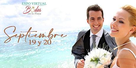Expo Virtual Bodas en la Playa II edición boletos