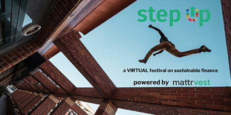 stepup - a festival of sustainable finance  by mattrvest tickets