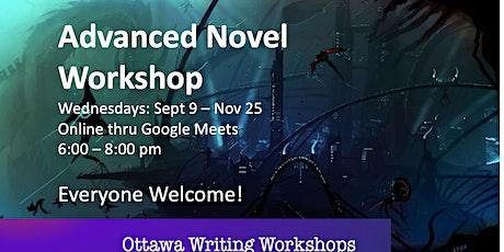 Advanced Novel Workshop - Online! tickets