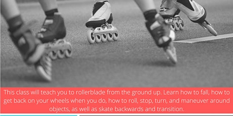 Introduction to Rollerblading (Ages 16+) tickets